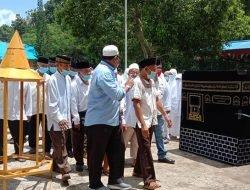 Calon Jemaah Haji Asal Halbar Ikuti BImbingan Manasik Haji Mandiri