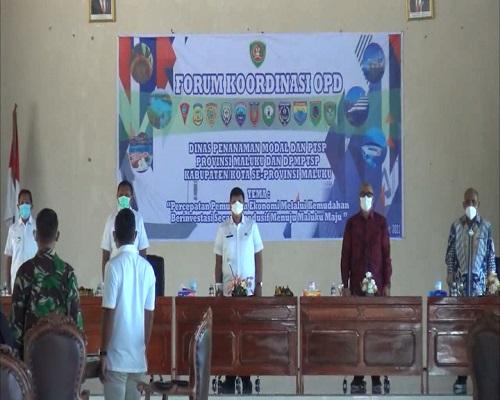 Masohi Tuan Rumah Penyelenggara Forum OPD