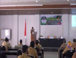 Dinas Pertanian Dan Hortikultura Maluku Tengah Gelar Rapat Bersama