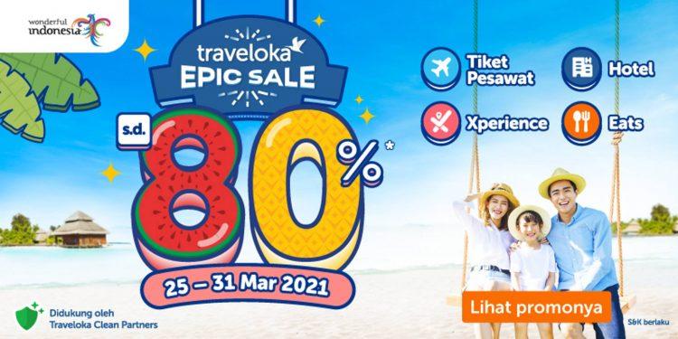 Traveloka Gelar Epic Sale 2021 Mulai Hari Ini 25-31 Maret
