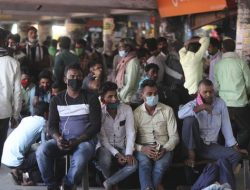 India Laporkan Rekor Perhitungan Harian 168.912 Infeksi COVID-19