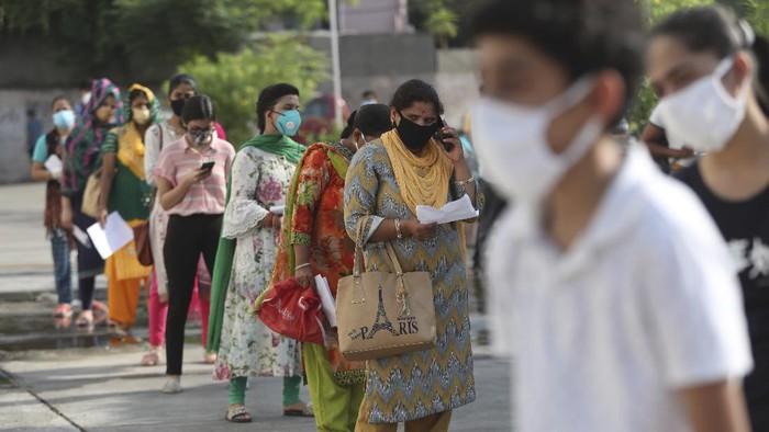 Infeksi Virus Corona Harian India Tertinggi Dalam 6 Bulan