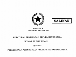 Pemerintah Menerbitkan PP Nomor 50 Tahun 2021