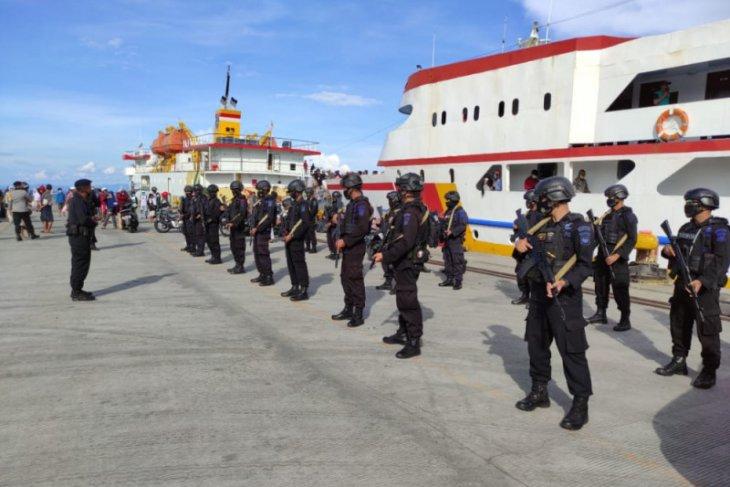 Polres Kerahkan Ratusan Personel Untuk Amankan PSU di Halmahera Utara