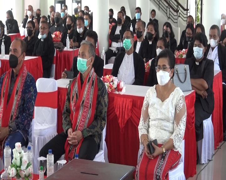 Majelis Jemaat Gelar Persidangan Ke 52 Klasis GPM Pulau Ambon Tahun 2021