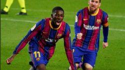 Striker Muda, Ousmane Dembele Pastikan Tetap di Barcelona