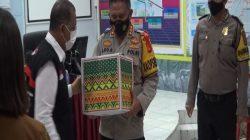 Bantuan Natura Diberikan Pemkot Ambon Kepada Anggota TNI dan Polri