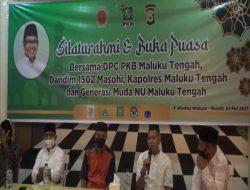DPC PKB Maluku Tengah Adakan Silaturahmi Buka Puasa Bersama Kodim 1502 Masohi
