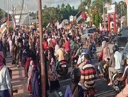 Organisasi Islam Kota Tual Maluku Tenggara Gelar Aksi Solidaritas Kepada Palestina