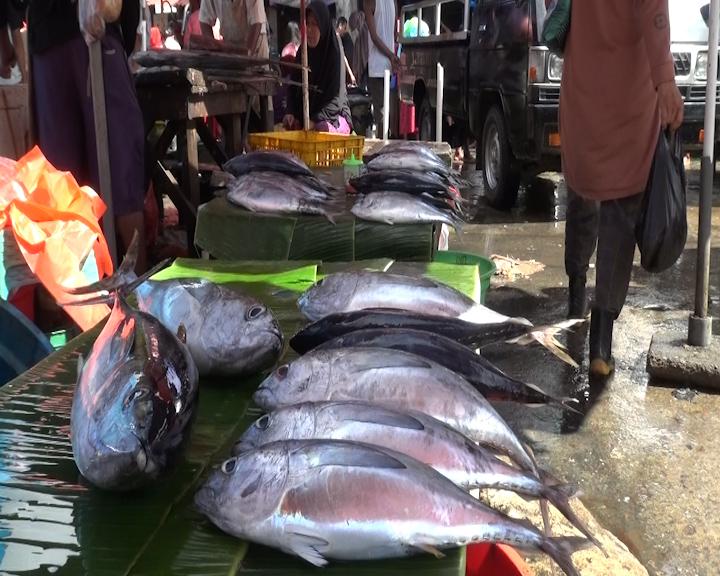 Harga Ikan Segar di Pasar Mardika dan Batu Merah Mengalami Kenaikan