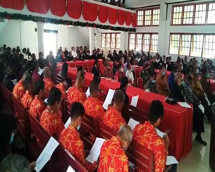 Jemaat GPM Nikulukan-Niwelehu Jadi Tuan Rumah Sidang Klasis GPM Taniwel Ke-39