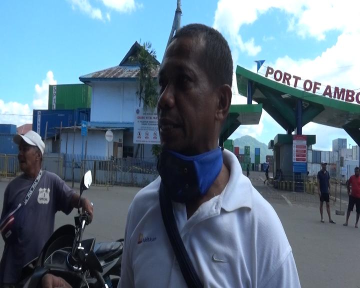 Para Pekerja Buruh Bagasi Meminta Perhatian Khusus dari Pemerintah Kota Ambon
