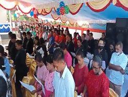 Peresmian Rumah Pastori 3 GPM Kamarian Diikuti Bupati SBB