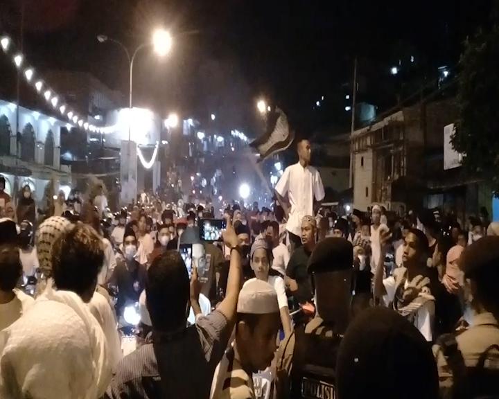 Pawai Malam Takbiran di Kota Ambon Mendapat Pengawalan Ketat Dari Aparat