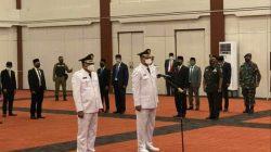 Pelantikan Bupati dan Wabup Halmahera Selatan Oleh Gubernur Malut