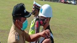 Polres Maluku Tengah Adakan Apel Gelar Pasukan Operasi Ketupat Siwalima 2021