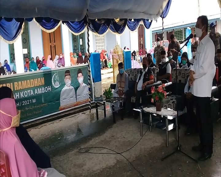 Safari Ramadhan di Negeri Laha Dihadiri Wakil Walikota Ambon