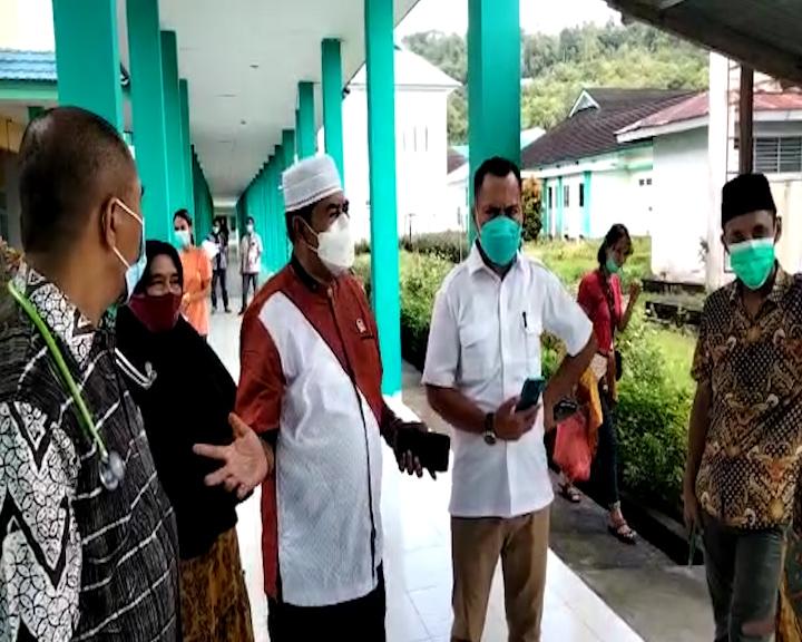 Tinjau Pelayanan Kesehatan, Ketua Komisi IV DPRD Maluku Tengah Ke RSUD Masohi