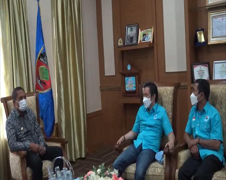 Bupati Maluku Tengah Bersilaturahmi Dengan Pengurus DPN Pusat dan Pengurus Partai Gelora