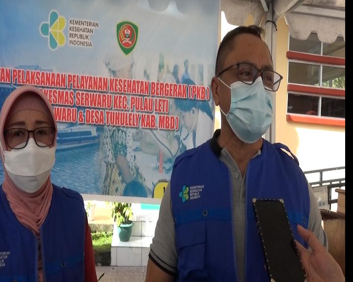 Program Pelayanan Kesehatan Bergerak Diikuti 21 Nakes di Leti MBD