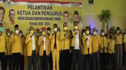 Ramly Umasugi Resmi Melantik Rudolf Lailossa Sebagai Ketua DPD II Golkar Maluku Tengah