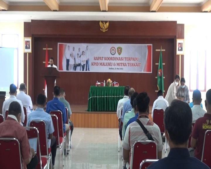 KPID Maluku Periode 2016-2021 Gelar Rapat Koordinasi Bersama Mitra Terkait