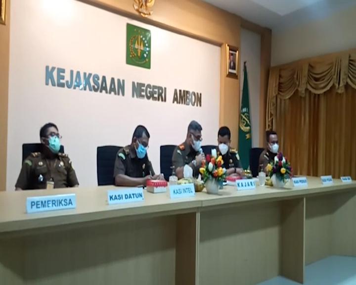 Tiga Orang Ditetapkan Sebagai Tersangka Kasus Korupsi di DLHP Kota Ambon