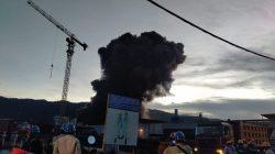 Kebakaran di Kawasan Smelter PT IWIP Maluku Utara, 15 Orang Luka Bakar Serius