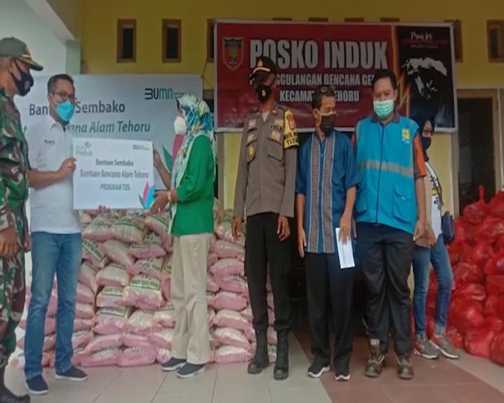 YBM dan PLN Cabang Masohi Salurkan Bantuan Korban Gempa Tehoru