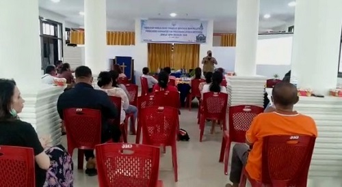 Pelatihan Tanggap Bencana Digelar Jemaat GPM Imanuel OSM