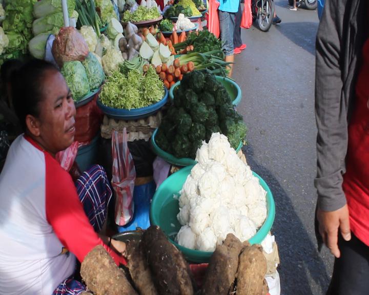 Terbilang Normal Harga Sayur di Pasar Tradisional Ambon