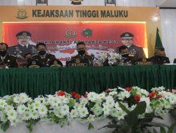 Kejati Maluku Berhasil Selesaikan 263 Kasus Via Online Periode Januari Hingga Juli 2021