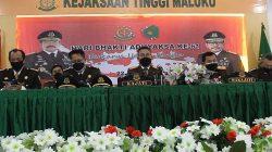 Kejati Maluku Menuggu Audit Inspektorat Tentang Penetapan Sekda SBB Dalam Dugaan Kasus Korupsi ABL