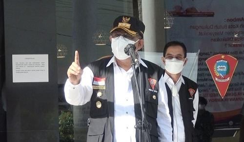 Walikota Ambon Ingatkan Satgas COVID-19 Utamakan Pendekatan Persuasif Humanis