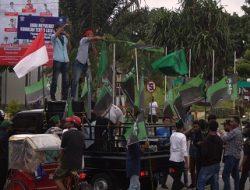 Aksi Demo Digelar HMI Cabang Ambon Menuntut Risman Soulissa Dibebaskan Serta Kecam Pernyataan Gubernur Maluku Murad Ismail