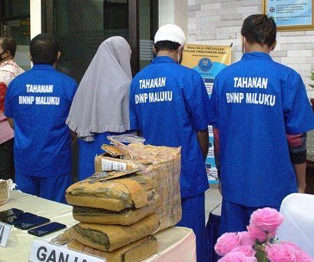 BNNP Maluku Berhasil Ungkap 8 Kasus Narkoba Periode Januari-Juli 2021