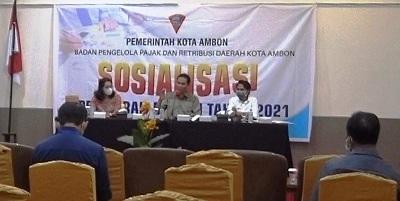 BPPRD Ambon Gelar Sosialisasi Tentang Perda 2021