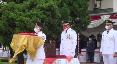 Bupati Maluku Tengah Pimpin Upacara HUT Ke-76 Kemerdekaan RI