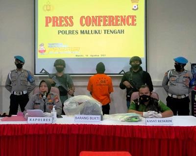 Erwin Suailo Tersangka Pembunuhan Niken Ilelapatoa Diancam Hukuman Seumur Hidup