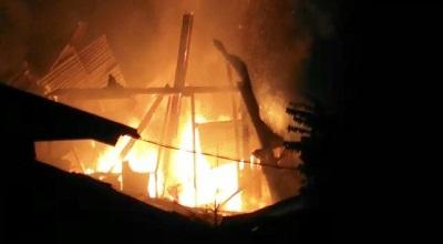 Kebakaran di Kudamati Kawasan Lorong Choker Hanguskan 1 Rumah