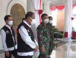 Sambangi Balai Kota Ambon, Pangdam XVI Pattimura Yang Baru Jalin Silaturahmi