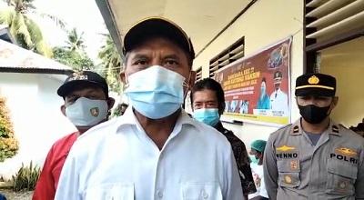 Bupati Malteng Tinjau Pelaksanaan Vaksinasi Anak di Leihitu Barat