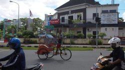 Dishub Kota Ambon Kaji Penghapusan Becak di Ambon