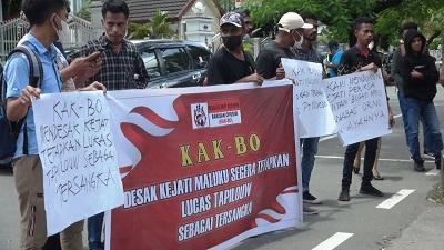 Elemen Mahasiswa KAK-BO Desak Kejati Tetapkan Tersangka Korupsi PT Kalwedo