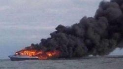 Kapal KM Hentri Kebakaran, 25 ABK Belum Ditemukan