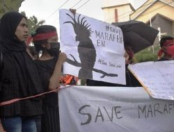 Mahasiswa Desak Gubernur Kembalikan Tanah Adat Marafenfen