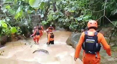 Pencarian Bocah Hilang Terserat Arus di Sungai Ahuru Belum Ditemukan