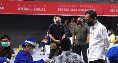Presiden Jokowi : Seluruh Pihak Harus Belajar Hidup Berdampingan Dengan COVID-19