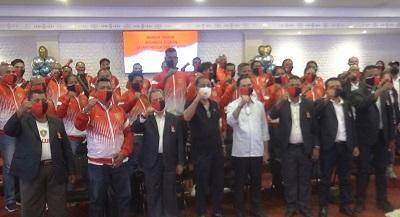 Walikota Ambon Beri Motivasi dan Semangat Kepada Para Atlit Perwakilan Maluku di PON XX Papua