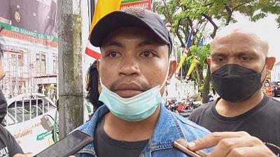 Aliansi Mahasiswa Peduli Pendidikan SBT Gelar Demo di Kejati Maluku